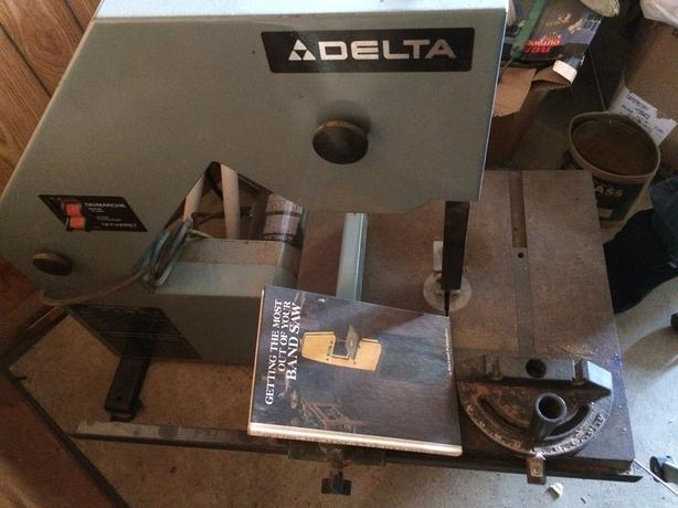"16"" Delta Bandsaw With Stand"