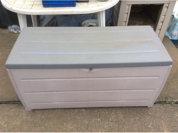 Charmant Black U0026 Decker Deck Storage Box