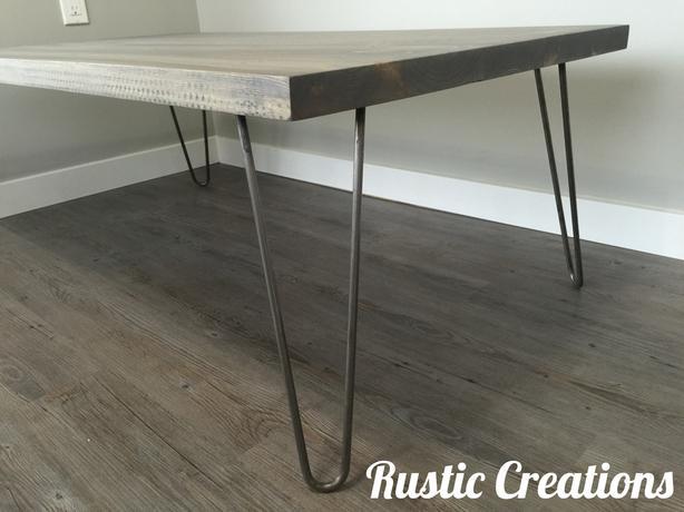 Hair-Pin Leg Coffee Table