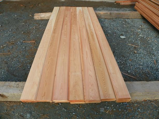 1x4 clear tongue and grove Western Red Cedar