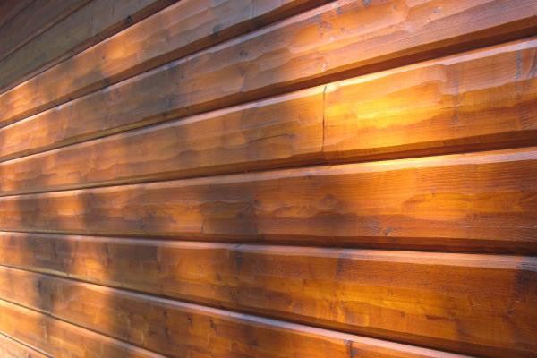 Cedar Log Cabin Siding Outside Comox Valley Campbell River