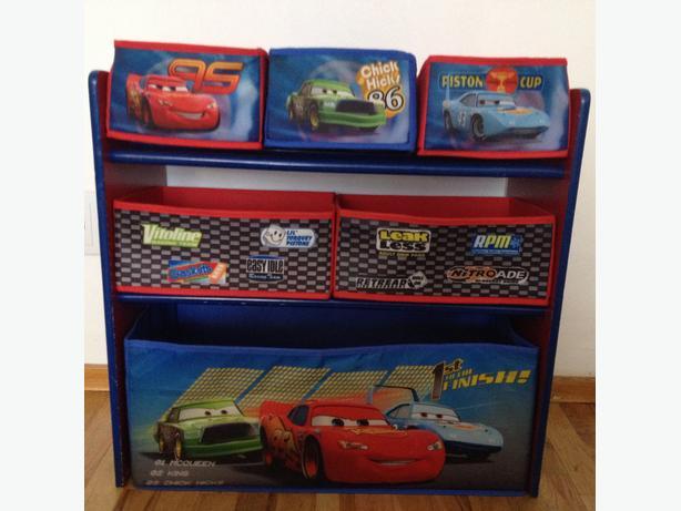 Lightning McQueen Car toy storage shelf & Lightning McQueen Car toy storage shelf Victoria City Victoria