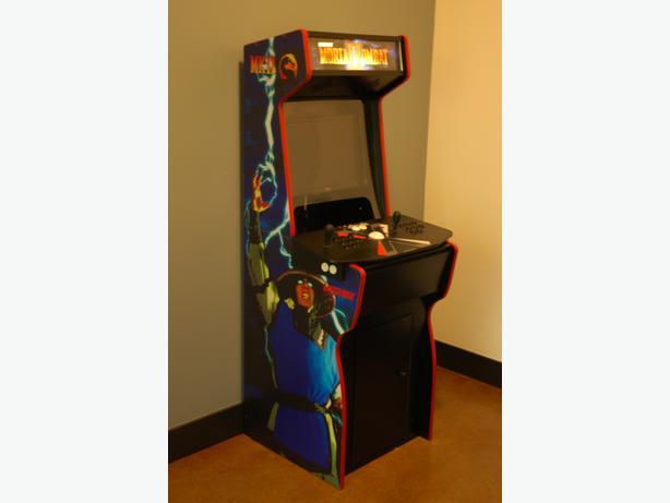 Retro Arcade Cabinet And X Arcade Tankstick