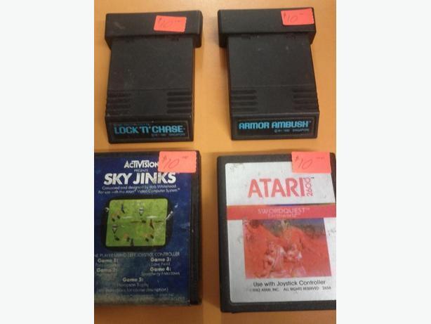 4 Atari Games
