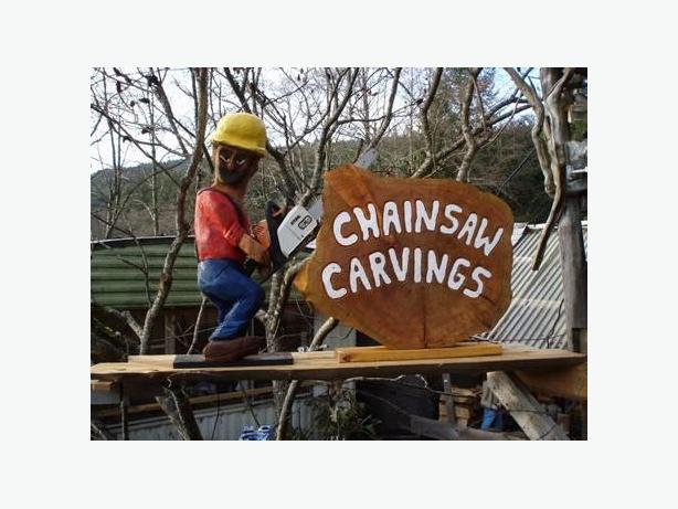 Red Cedar Chainsaw Carvings