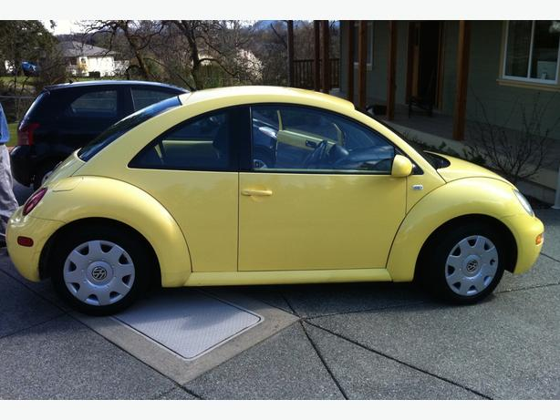 2001 yellow volkswagen beetle burnaby incl new. Black Bedroom Furniture Sets. Home Design Ideas