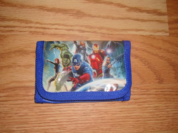Brand New Avengers Fabric Wallet - $5