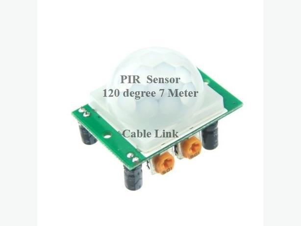 Pyroelectric Infrared Radial (PIR) Motion Sensor Detector Module
