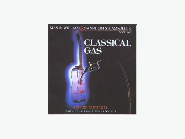 Mannheim Steamroller and Mason Williams - Classical Gas (CD)