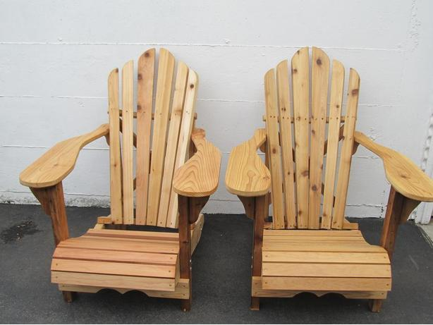 New -Cedar Adirondack Chairs