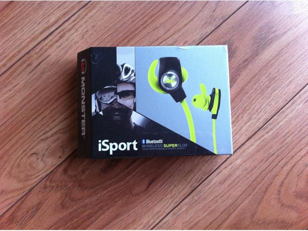 earphones iSPORT SUPER SLIM wireless NEW IN BOX