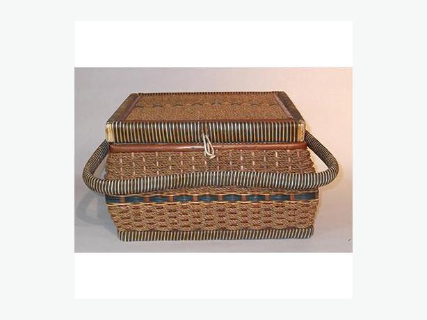 Vintage Rush Sewing Basket