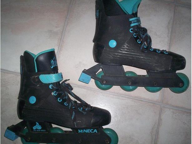 3 Different Pairs of Roller Skates