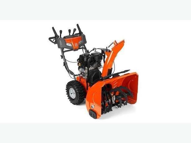 NEW HUSQVARNA ST227P SNOWBLOWER IN STOCK AT DSR