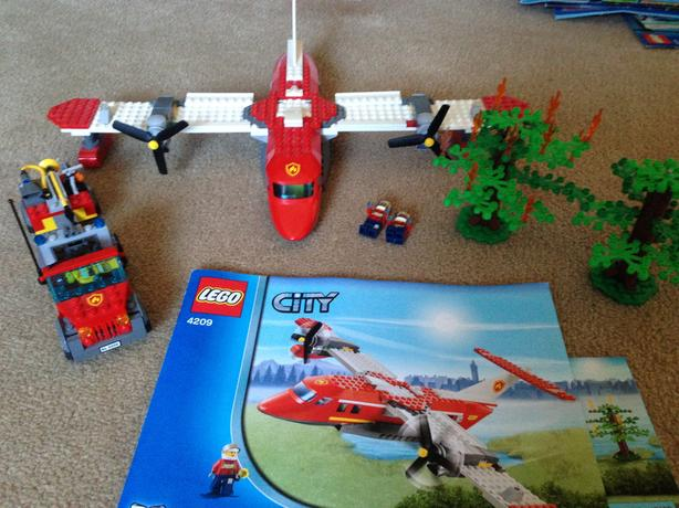 Lego city fire plane.