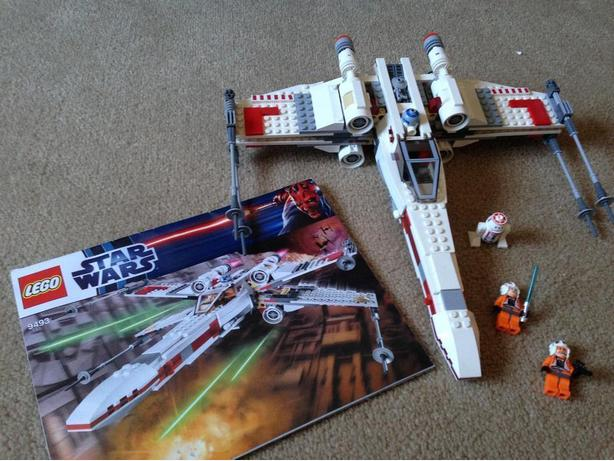 Star Wars x wing starfighter