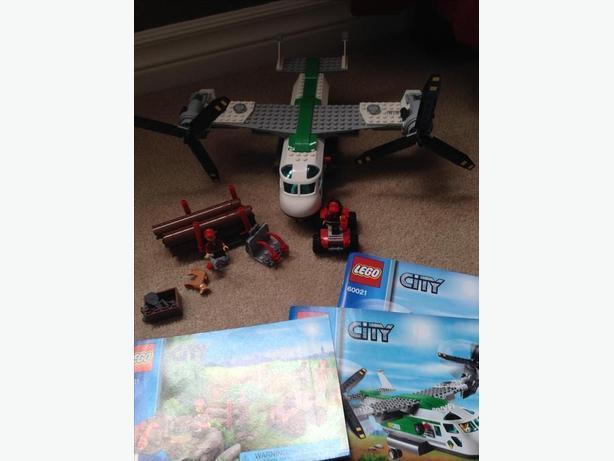 Lego cargo heliplane
