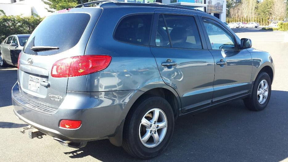 used 2009 hyundai santa fe gsl awd for sale in parksville outside comox valley courtenay comox. Black Bedroom Furniture Sets. Home Design Ideas