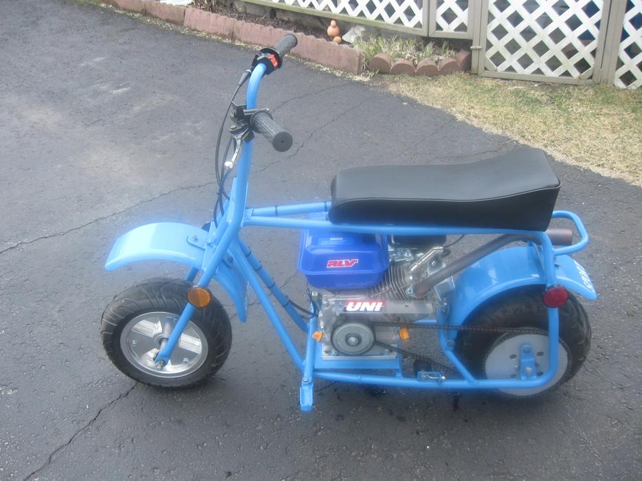 Mint gas mini bike for sale or trade gas go kart outside for Go kart montreal exterieur