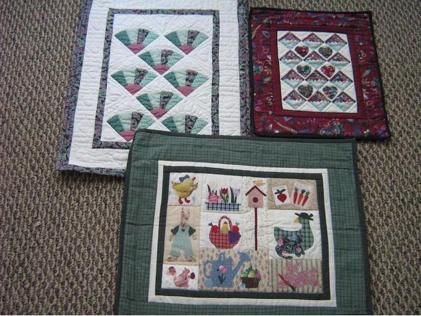 QUILTS - Small hangings, hand quilted