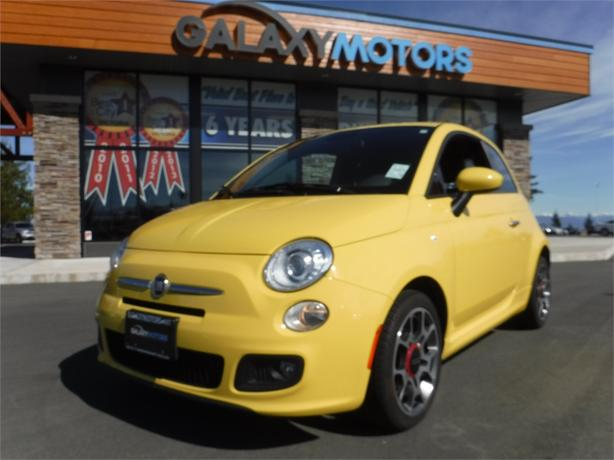 2014 fiat 500 sport bc only bluetooth alloy wheels. Black Bedroom Furniture Sets. Home Design Ideas