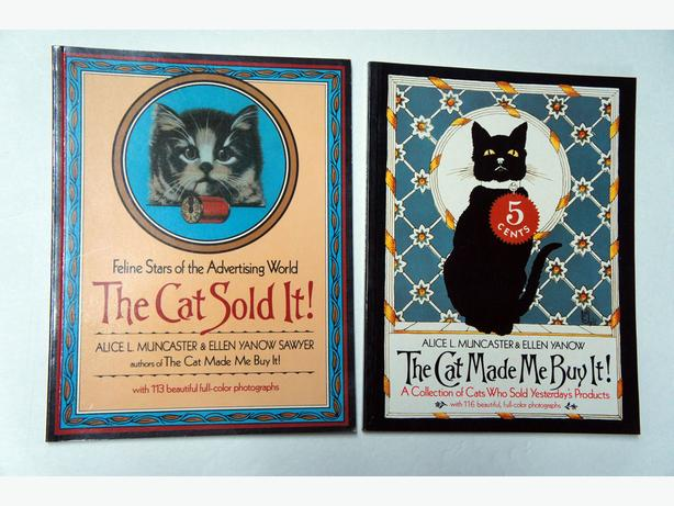 The Cat Sold It & Cat Made Me Buy It! Advertising World