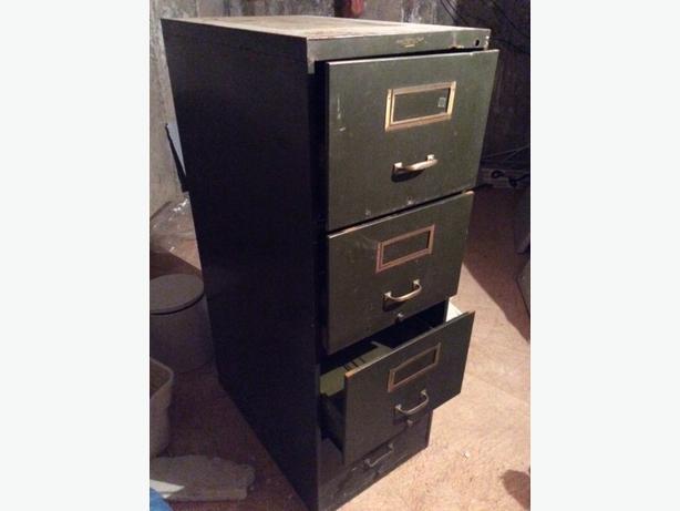 Vertical Legal File Cabinet, 4-Drawer,