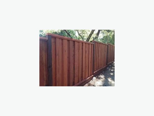 Western Red Cedar Fencing