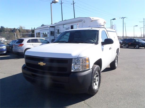 2012 Chevrolet Silverado 1500 Regular Cab Standard Box 2WD Canopy with Roof Rack
