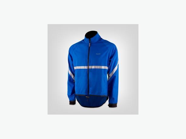 Blue Running Room reflective jacket