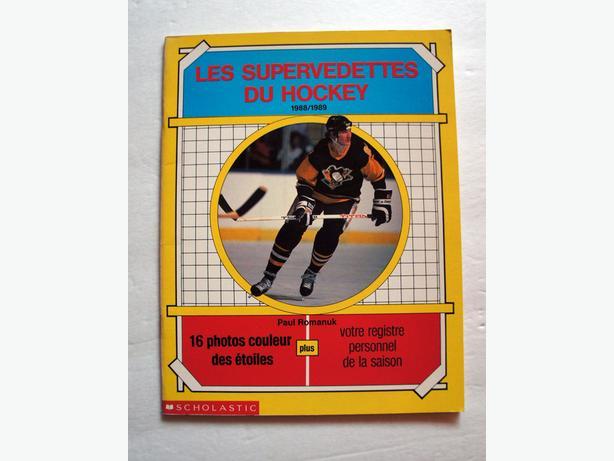 Les supervedettes du Hockey 1988-89 par Scholastic