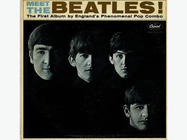 THE BEATLES - MEET THE BEATLES LP RECORD