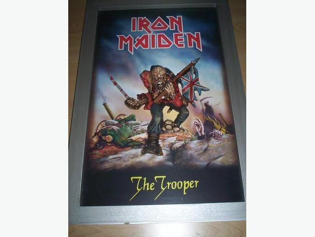 Iron Maiden 3 D Wall Art Framed Figure
