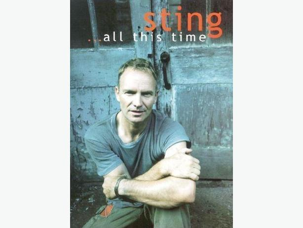 Sting All This Time Dvd Concert Amp Documentary Like New