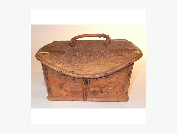 Vintage Native Birch Bark Box