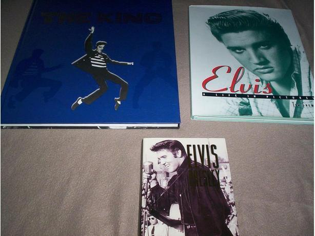 3 Elvis Books