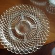 Anchor hocking Waterford waffle depression glass dishes