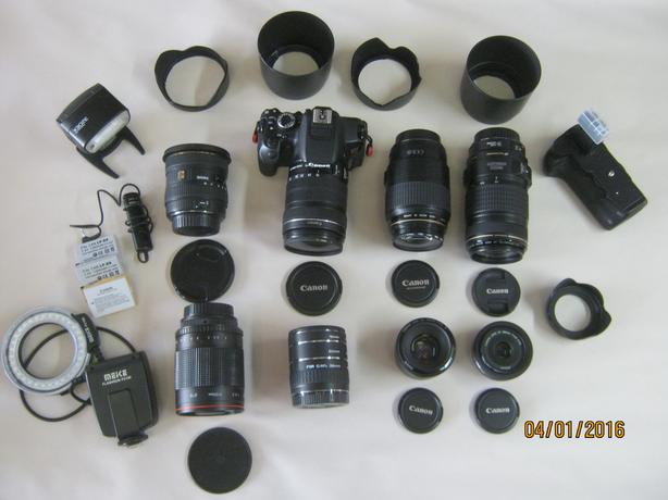 Canon T4i Digital Rebel Camera