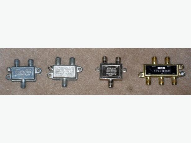 Transformer With Cable Splitter Internet And Tv : Various passive cable tv switches splitters and matching