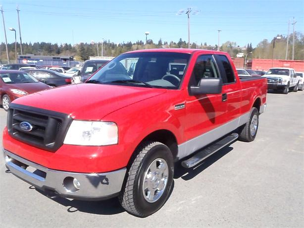 2006 ford f 150 xlt super cab short box 4wd outside cowichan valley cowichan. Black Bedroom Furniture Sets. Home Design Ideas