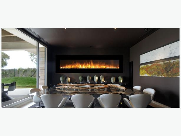 "96"" WALL MOUNTED ELECTRIC FIREPLACE"
