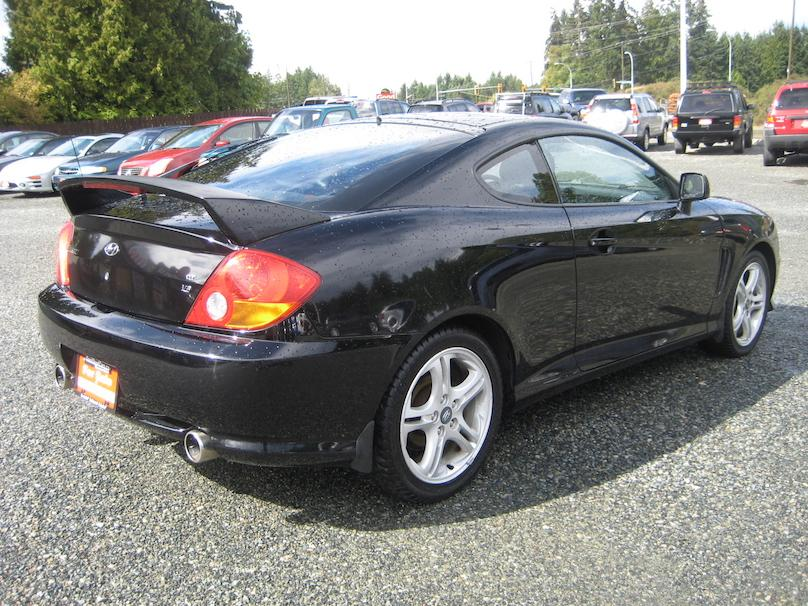 2003 hyundai tiburon gt outside comox valley comox. Black Bedroom Furniture Sets. Home Design Ideas