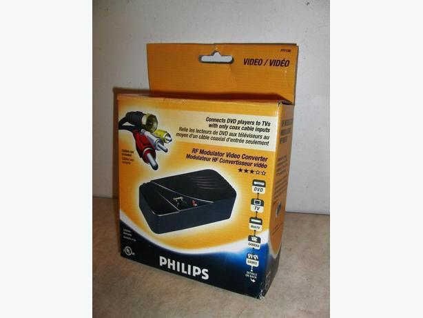 Phillips P71138 RF Modulator Video Controller