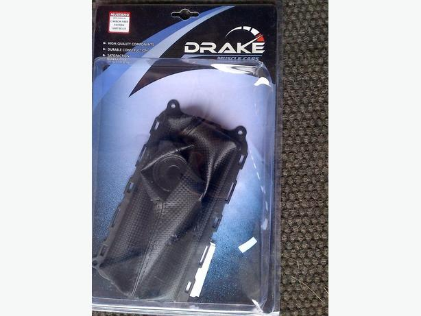 2010-14 FORD MUSTANG DRAKE CARBON FIBER MANUAL SHIFT BOOT