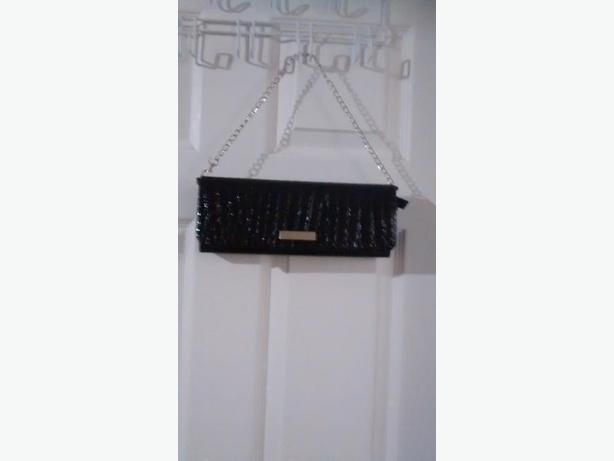 Beautiful Lise Watier Black Clutch Purse
