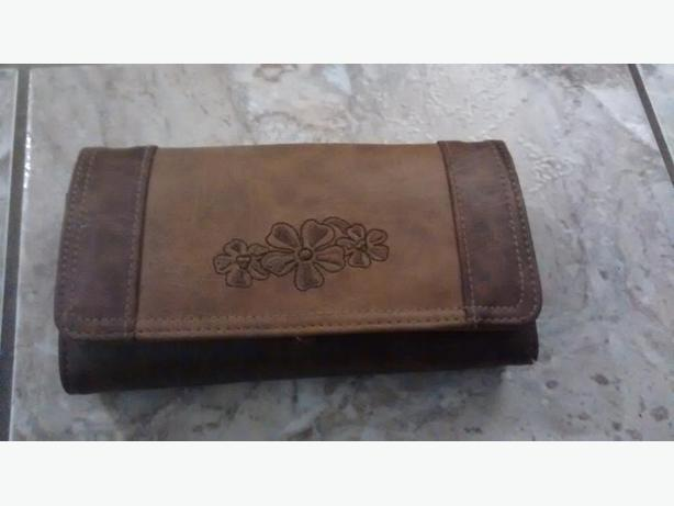 Ladies Large Beautiful Brown Wallet