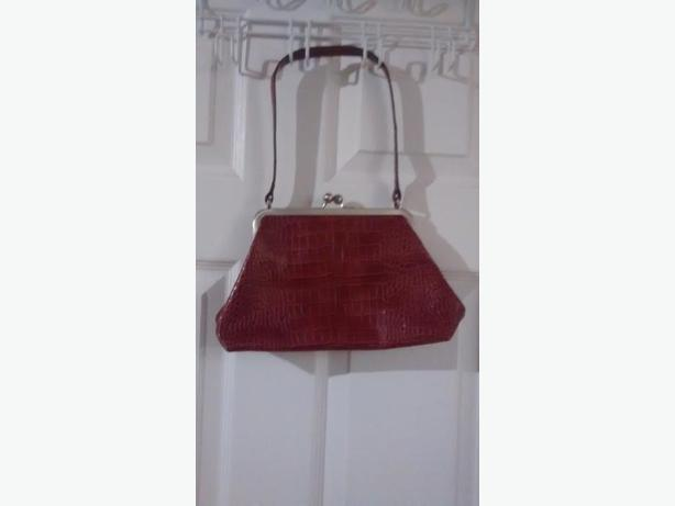 Gorgeous Red Nine West Purse