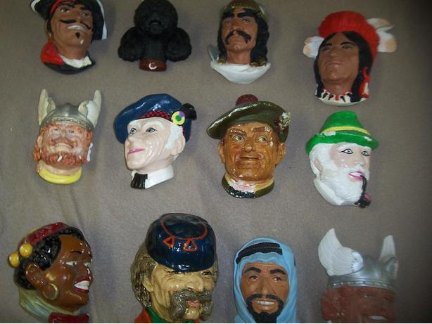 12 Clay Heads
