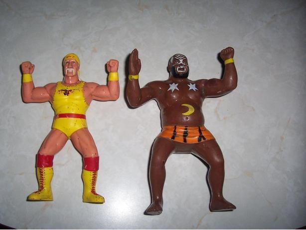 Set of Wrestling Men from the 80's