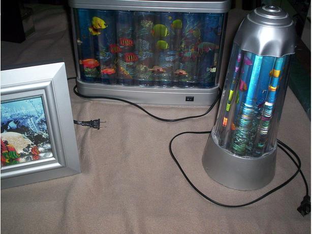 Fish Lights and Aquarium